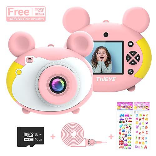 ThiEYE Kids Camera Children Digital Cameras for Girls Boys Birthday Toy Gifts 3-12 Year Old 2