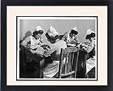 Framed Print Of Student Nurses 1940S