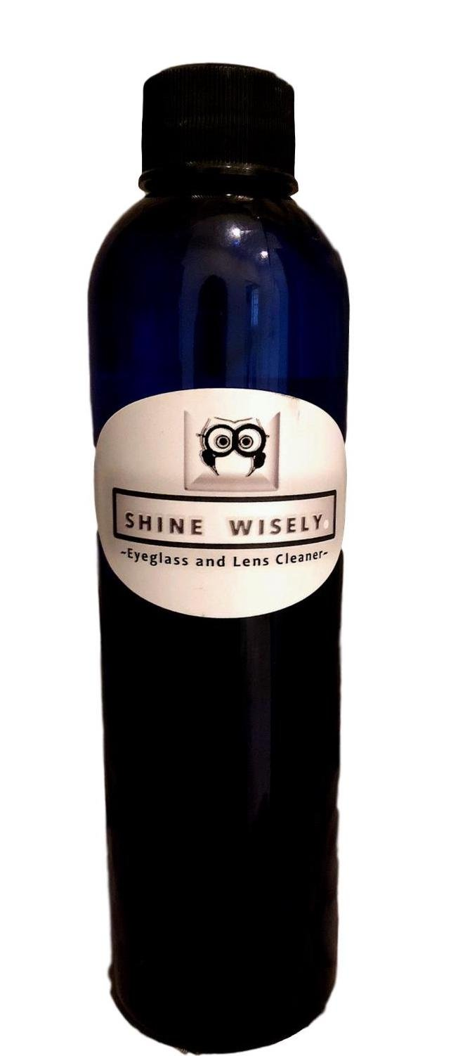 Shine Wisely Eyeglass and Lens Cleaner: One (1) 8-oz Refill