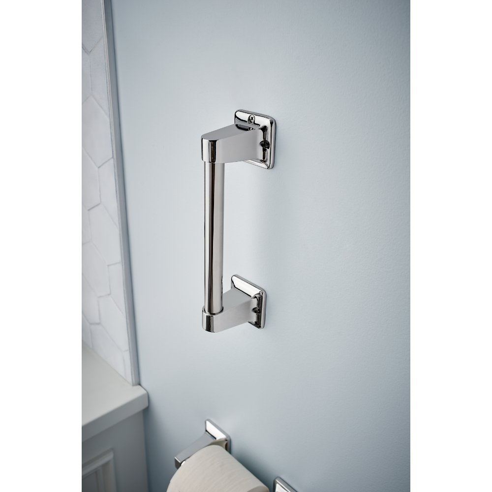 Delta DF509PC 9'' x 7/8'' Exposed Screw Residential Assist Bar, Polished Chrome by Delta (Image #2)