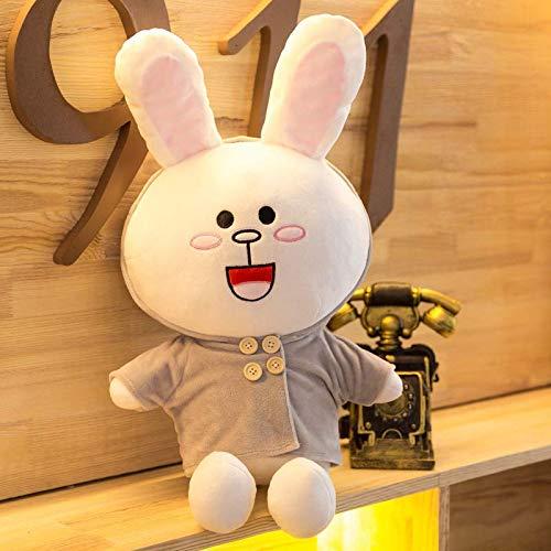 Connie Rabbit C 1.2m suxiaopei marron Bear Doll Lapin Plus Jouets Oreiller Mignon Tenir Ours Lit Grand Poupée Fille Net Net 1.2m Une Paire de DS
