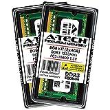 A-Tech 8GB Kit (2x 4GB) DDR3 1333MHz PC3-10600 204-pin SODIMM Laptop Notebook Computer Memory RAM Modules