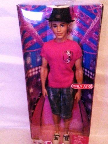 Barbie Target 2011 Exclusive KEN Doll [Pink Tee, Hat & Jean Shorts]