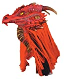 Fire Brimstone Dragon Deluxe Adult Halloween Mask
