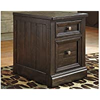 Townser File Cabinet Grayish Brown/Traditional