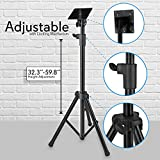 Pyle Premium LCD Flat Panel TV Tripod, Portable TV