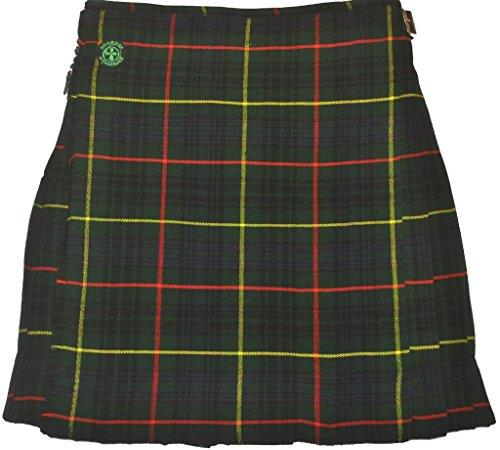 American Highlander Men's Hunting Tartan Kilt 50 Waist Green/Blue/Red/Yellow by American Highlander