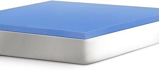 Amazon Com Serta 2 Support Gel Infused Memory Foam Mattress