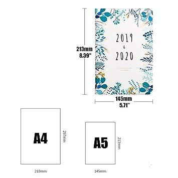 2019-2020 - Cuaderno planificador mensual semanal para ...