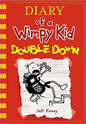 diary of a wimpy kid 11 double down jeff kinney 9781419723445 amazoncom books