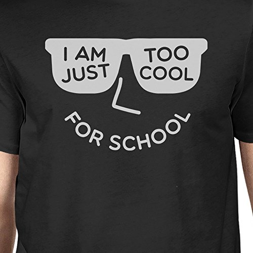 Courtes Cool For Taille T Printing Unique School Homme shirt Manches 365 Too Black zgSIfxwqgW