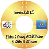 Windows 7 Installer Disc for All versions of Windows 7 Full Suite Repair Recovery[DVD-ROM] Windows 7