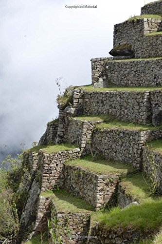 Download Terraces at Machu Picchu Journal: 150 Page Lined Notebook/Diary PDF