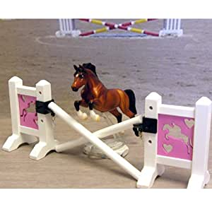 Intrepid International Miniature Wood Model Horse Jumps, Jumper