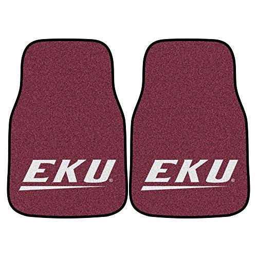 (FANMATS NCAA Eastern Kentucky University Colonels  Nylon Face Carpet Car Mat)