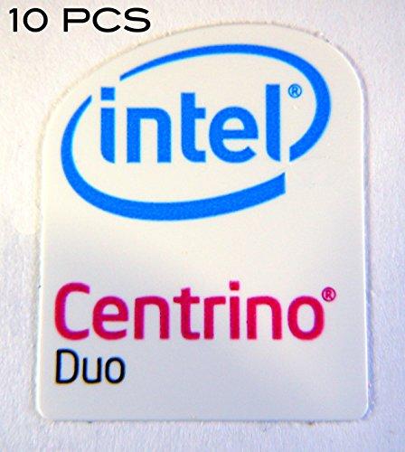 Intel 10 Pieces of Original Centrino Duo Sticker 16x 20mm [43x10]