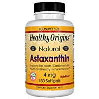 Healthy Origins Astaxanthin (AstaPure) 4 mg, 150 Softgels