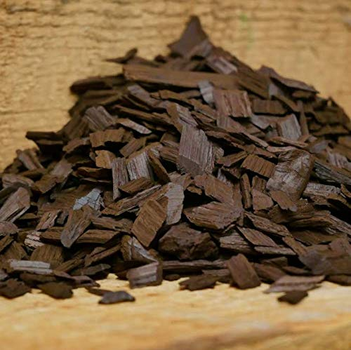 Moonshine Distiller Toasted-Oak-Chips American Toasted Oak Chips for Spirits/Wine/Brewing, 1/2 lb. ()