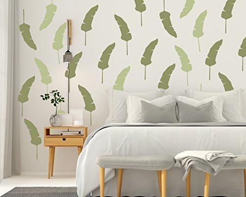 Banana Leaf, Tropical Leaf, Tropical Wall Decals, Tropical Wall Decor,  Hawaiian Decor