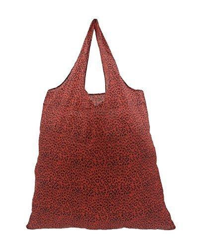 Fold Up Reusable Polyester Shopper Shopping Bag Carrier Bag - 4 Colours