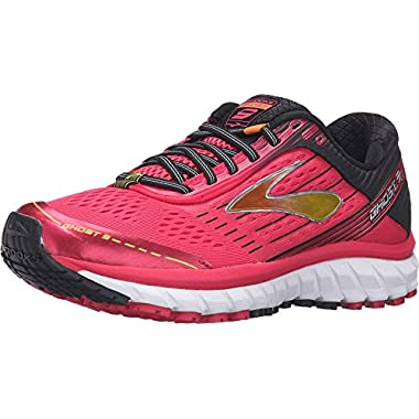 d2e50f281e1e1 Brooks Women s Ghost 9 Azalea Black Cyber Yellow Running shoes - 12 B(