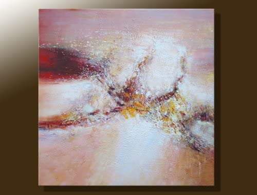 ElleWeiDeco modern Oil Painting on Canvas Stretched – Earth