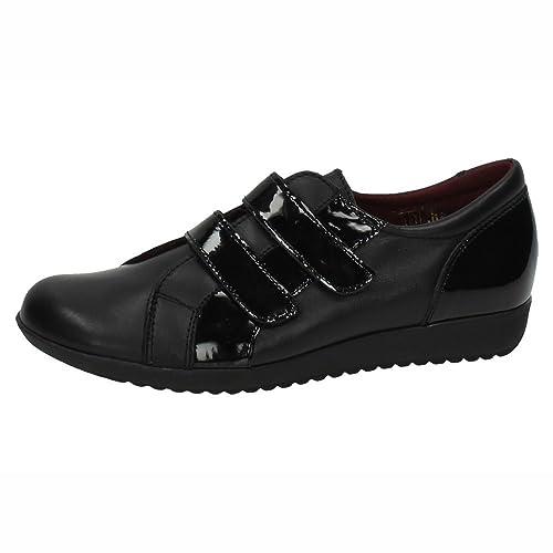 MADE IN SPAIN 933 Mocasines DE Mujer SEÑORA Zapatos MOCASÍN Negro 35