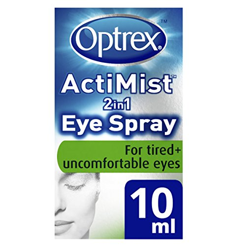 Optrex ActiMist 2in1 Eye Spray for Tired & Uncomfortable Eyes 0.34oz (10ml)