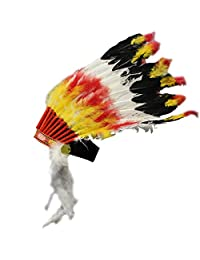 Big Chief Feather Headdress