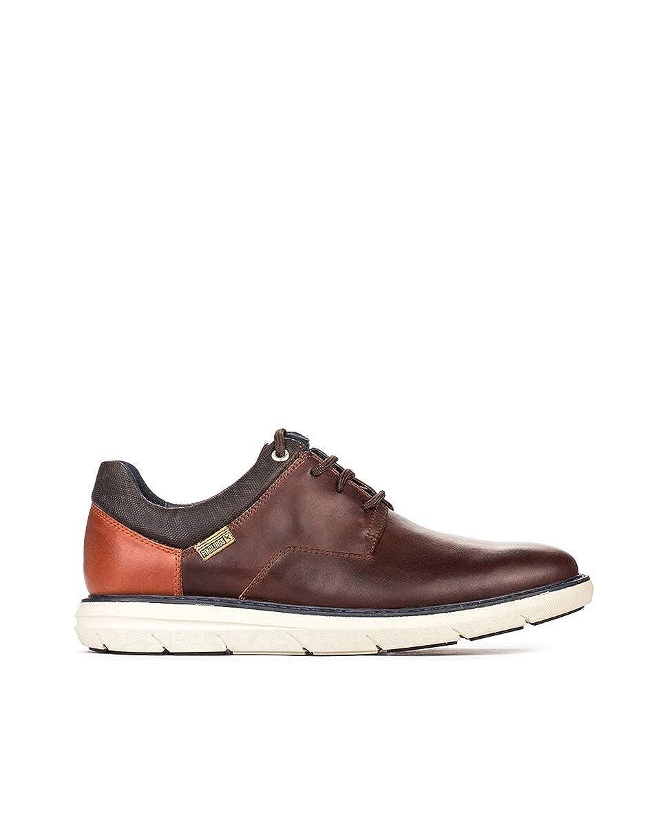TALLA 41 EU. Pikolinos Amberes M8h_i18, Zapatos de Cordones Derby para Hombre