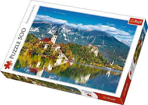 500ピース ブレッド ジグソーパズル Trefl ブレッド スロヴェニア Bled, Slovenia 34×48cm スロヴェニア Trefl 37259 B01IOFXZS6, MAGGY WEB SHOP:7e511213 --- sharoshka.org
