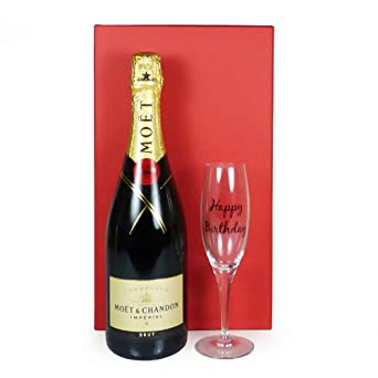 Champagne Moet Chandon Personalised Birthday Card Brother Son Husband   ANY AGE