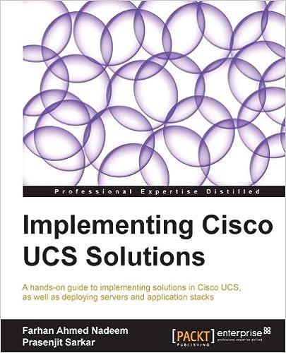Cisco Unified Computing System (ucs) (data Center) Ebook