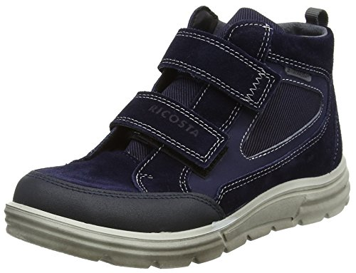 Ricosta Jungen Marvin Hohe Sneaker Blau (Nautic)