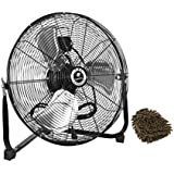 CF-20 TPI Floor Fan, Commercial Workstation, 20, 120 Volt (Complete Set) w/ Bonus: Premium Microfiber Cleaner Bundle