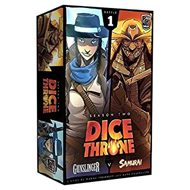 Dice Throne: Season 2 - Gunslinger vs Samurai