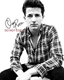 #4: Charlie Puth sexy singer Reprint SIGNED 11x14
