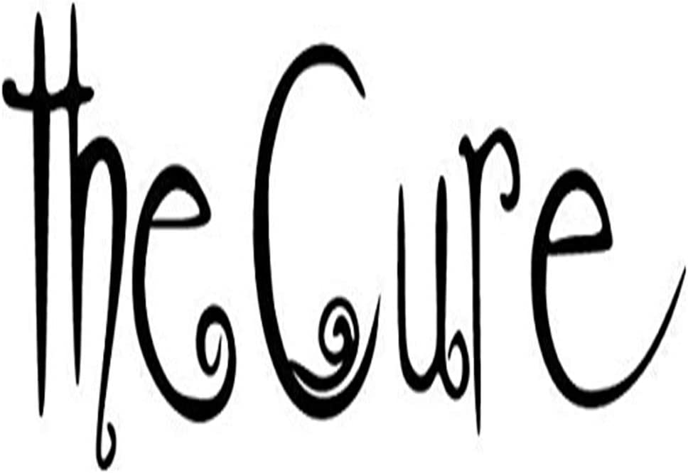 """The Cure Rock Band Printed Decal Sticker - 5"""" Sticker for Cars Windows Notebooks Lockers Etc"""