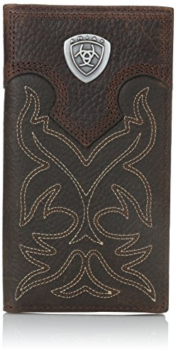 Ariat Ariat Shield Boot Stitch Rodeo Wallet Wallet Brown One Size ()