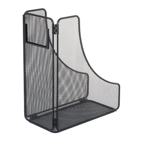 Safco Products 3270BL Onyx Mesh Magazine Holder, Black