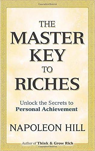 Master Key To Riches Napoleon Hill Pdf