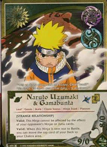 Naruto Card - Naruto Uzumaki & Gamabunta