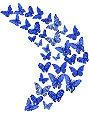 3D Vlinder Muurstickers Muur Vlinders