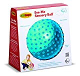 Edushape Sensory See-Me Ball, 7 Inch, Colors May Vary