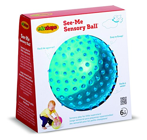 (Edushape Sensory See-Me Ball, 7 Inch, Colors May Vary)