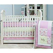 Pam Grace Creations Pam's Paisley 10 Piece Crib Bedding Set