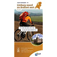 Radwanderkarte 19 Limburg noord, Brabant oost & De Peel 1:50 000 (ANWB fietskaart (19))
