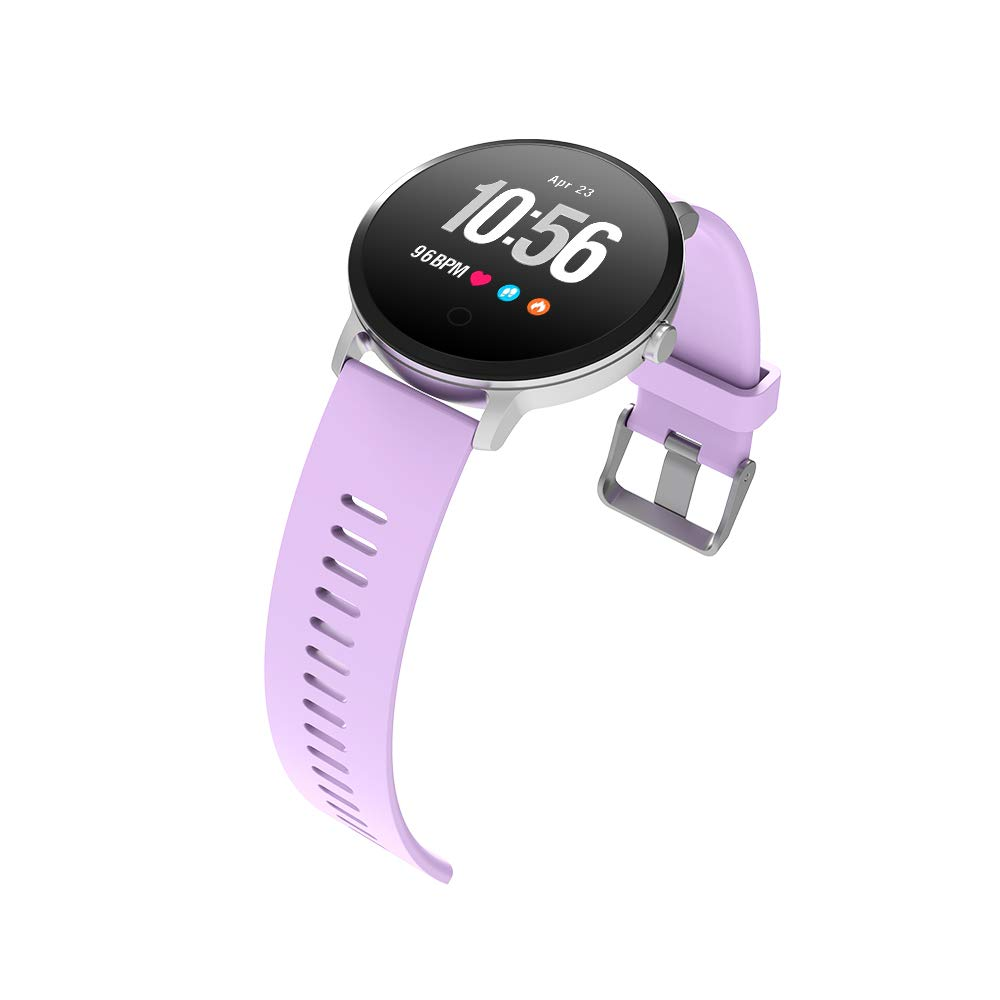 BingoFit Epic Fitness Tracker Smart Watch, Activity Tracker with Heart Rate Monitor, Waterproof Pedometer Watch with Sleep Monitor, Step Counter for Kids Women Men Gifts for New Years by BingoFit (Image #5)