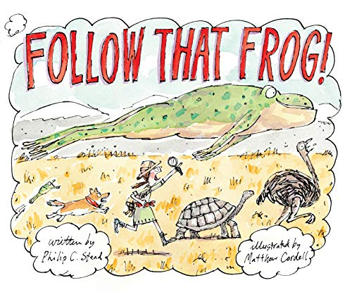 Book Cover: Follow That Frog!