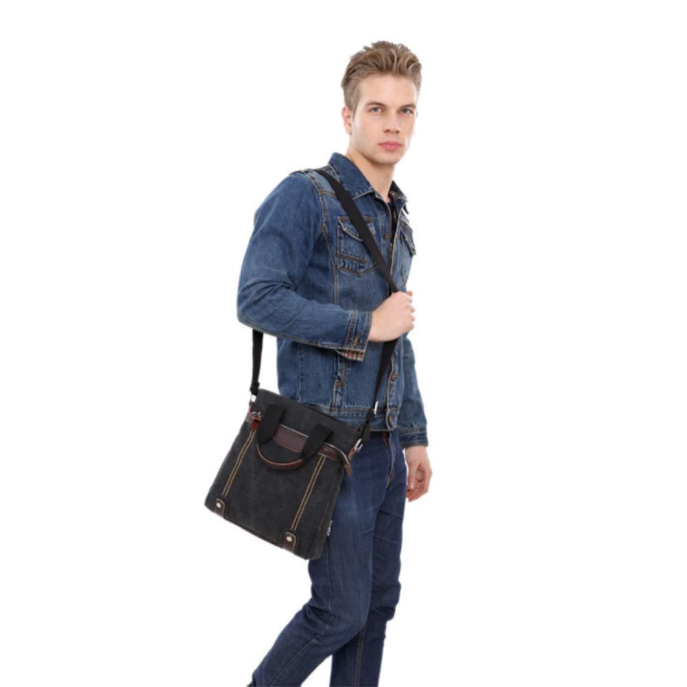 MEMIND One Shoulder Canvas Backpack Men Washed Canvas Crossbody Bag Shoulder Bag Travel Business Bag